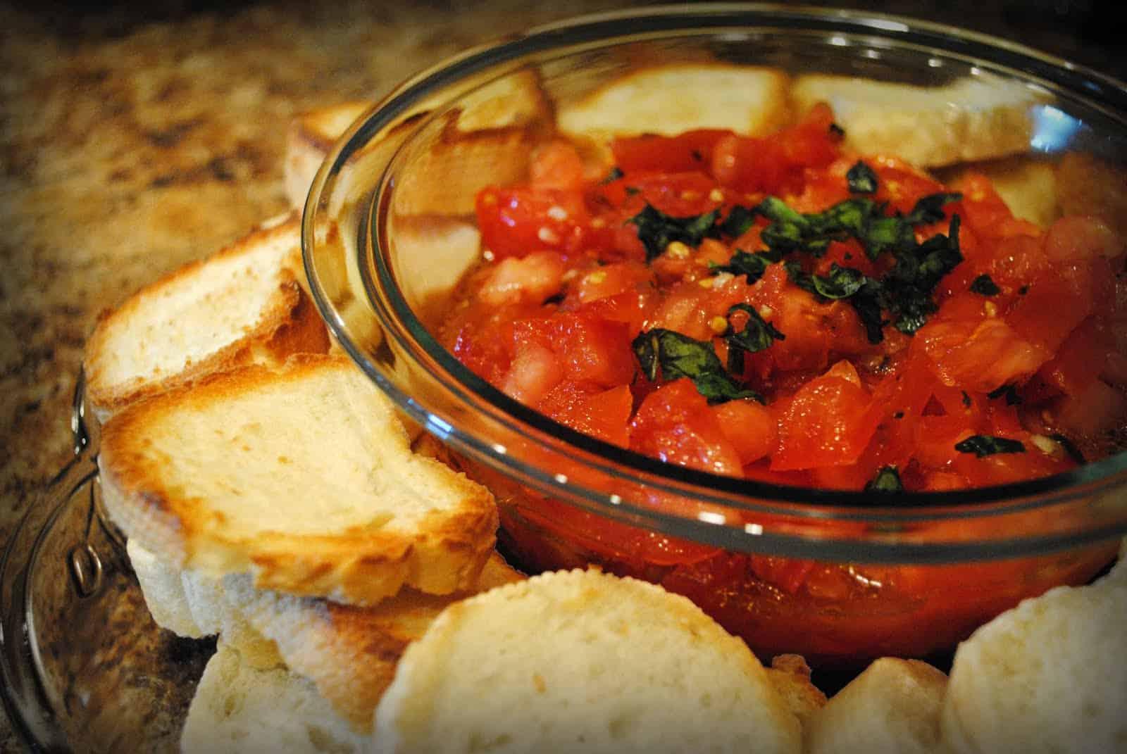 bruschetta al pomodoro - Olive Garden Bruschetta Recipe
