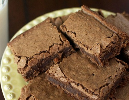 Chewy Chocolatey Homemade Brownies