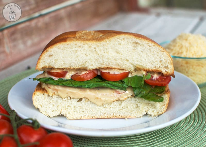 Chicken Caesar Sandwiches - Restuarant quality sandwiches you can make at home! If you love caesar dressing, you're going to love this sandwich.