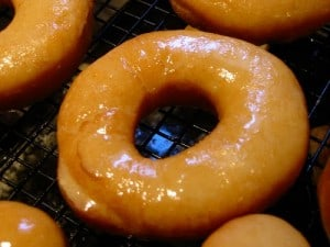 Friday Friendzy: Glazed Doughnuts