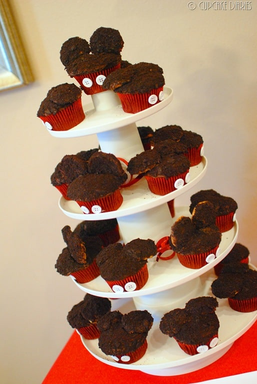First Birthday Mickey Mouse Clubhouse Party Cupcake Diaries