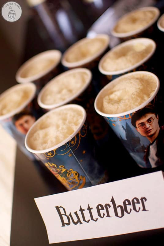 Butterbeer for a Harry Potter Party