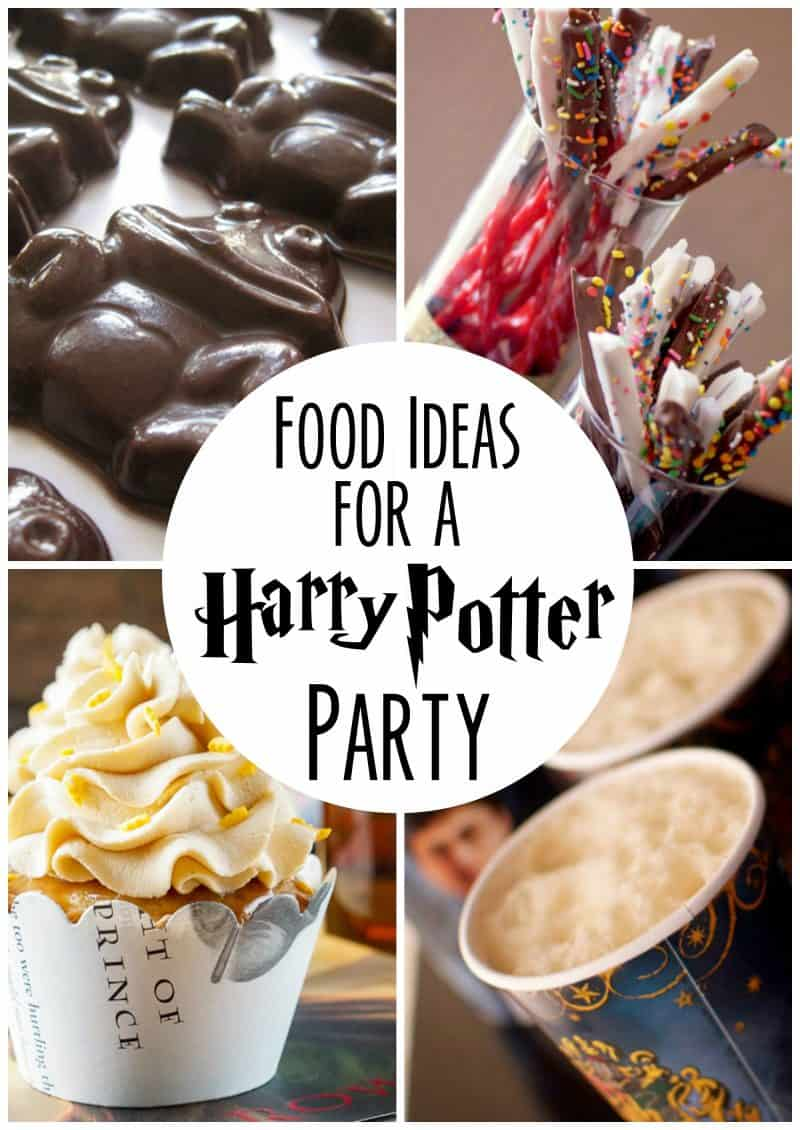 Food Ideas For Your Harry Potter Party