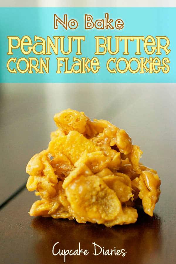 peanut butter crunchies recipe corn flakes