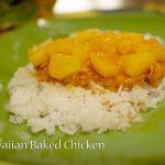 {Lighten Up!} Hawaiian Baked Chicken