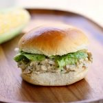 {Crock Pot} Chicken Caesar Sandwiches