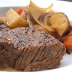 Slow Cooker Roast with Potatoes and Carrots
