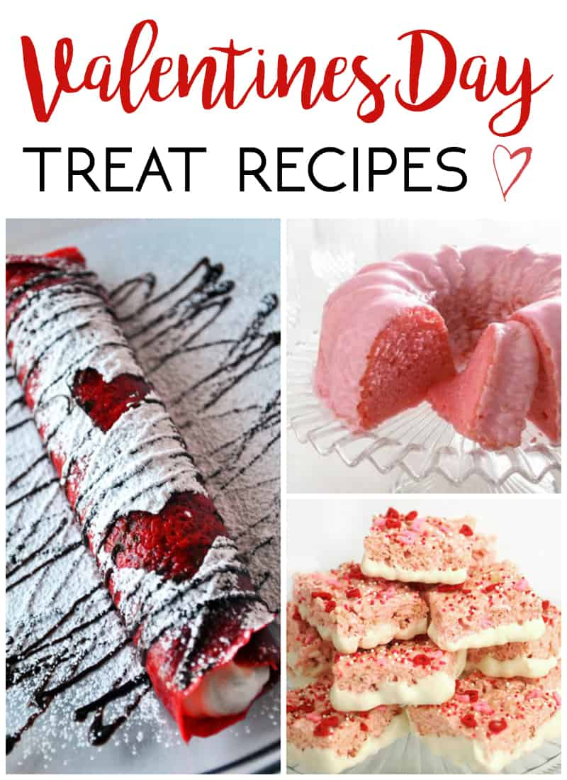 valentine 39 s day treat recipes