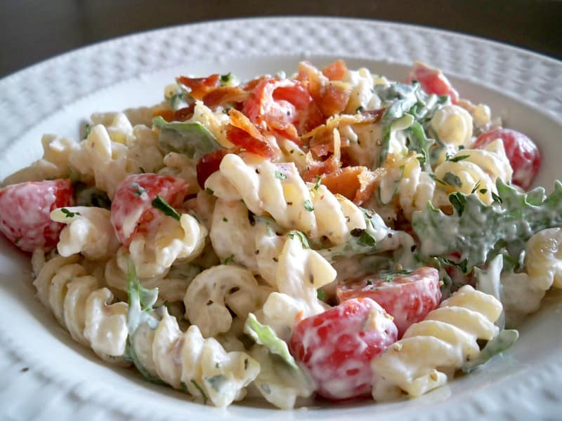 The Cheese Pusher Blt Pasta Salad