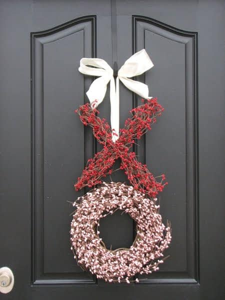 Kisses and Hugs Wreath