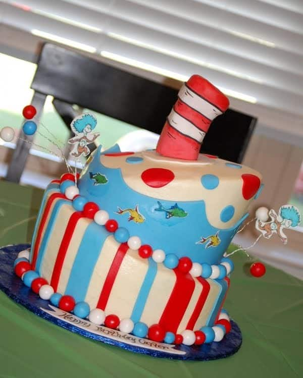 Cat In The Hat Cakes And Cupcakes