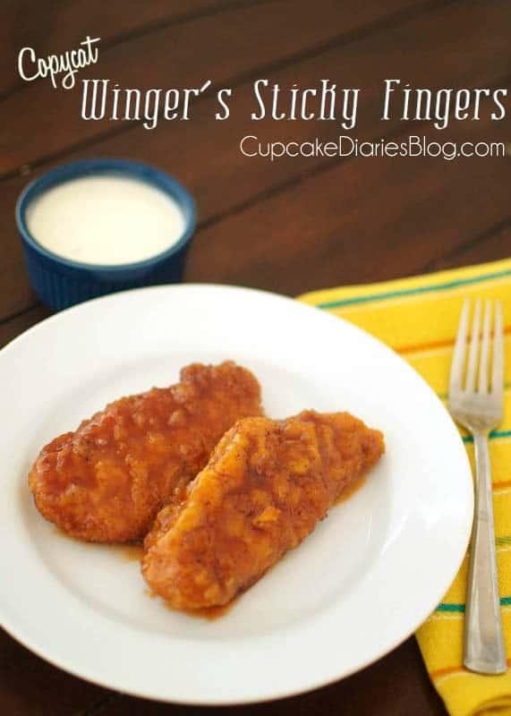 Copycat Wingers Sticker Fingers