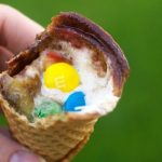Campfire Cones - The perfect dessert to make over the fire on a camping trip or at a BBQ!