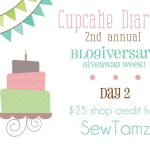 {Blogiversary Week} Day 2: SewTamz GIVEAWAY!