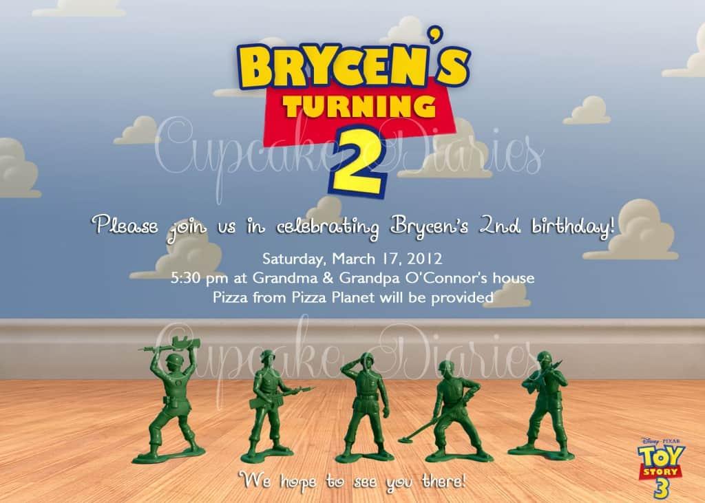 Brycen Invitation O'Connors mark