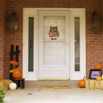 Easy Ways to Turn a Halloween Porch into a Thanksgiving/Fall Porch