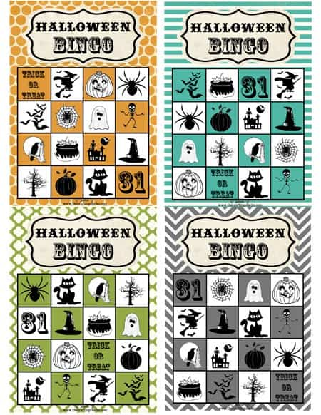 Gorgeous image intended for halloween bingo free printable