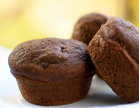 Chocolate Chip Applesauce Muffins