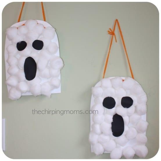 Halloween Craft... Halloween Crafts For Kids Ghosts