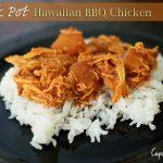 Crock Pot Hawaiian BBQ Chicken