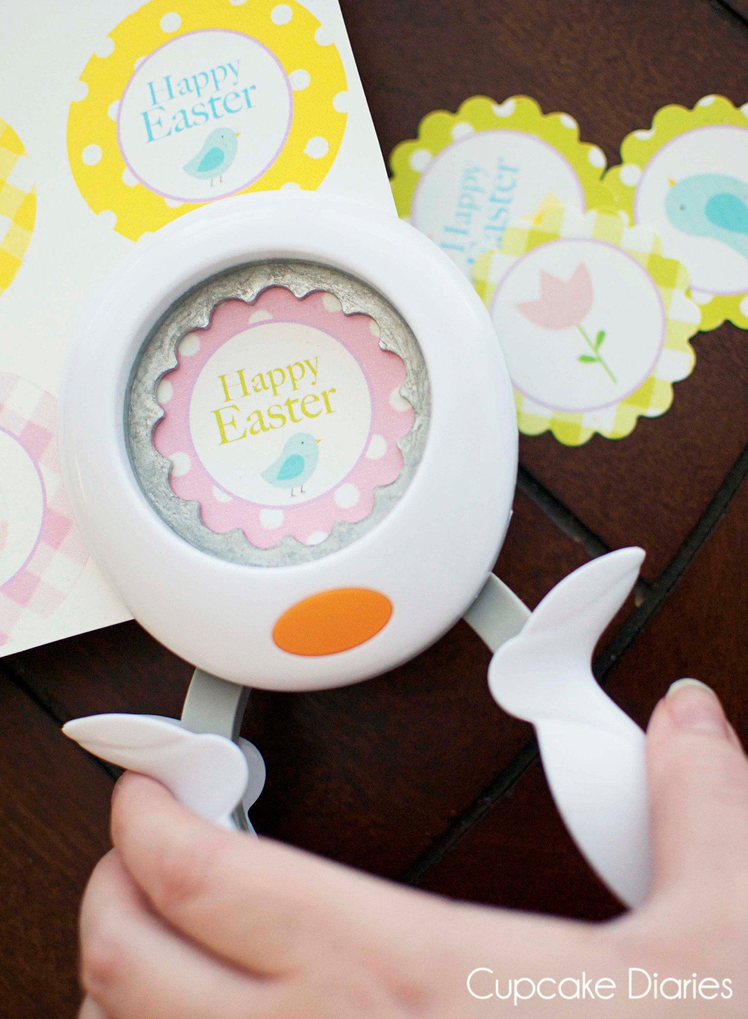 FREE Easter Cupcake Toppers Printable - Cupcake Diaries