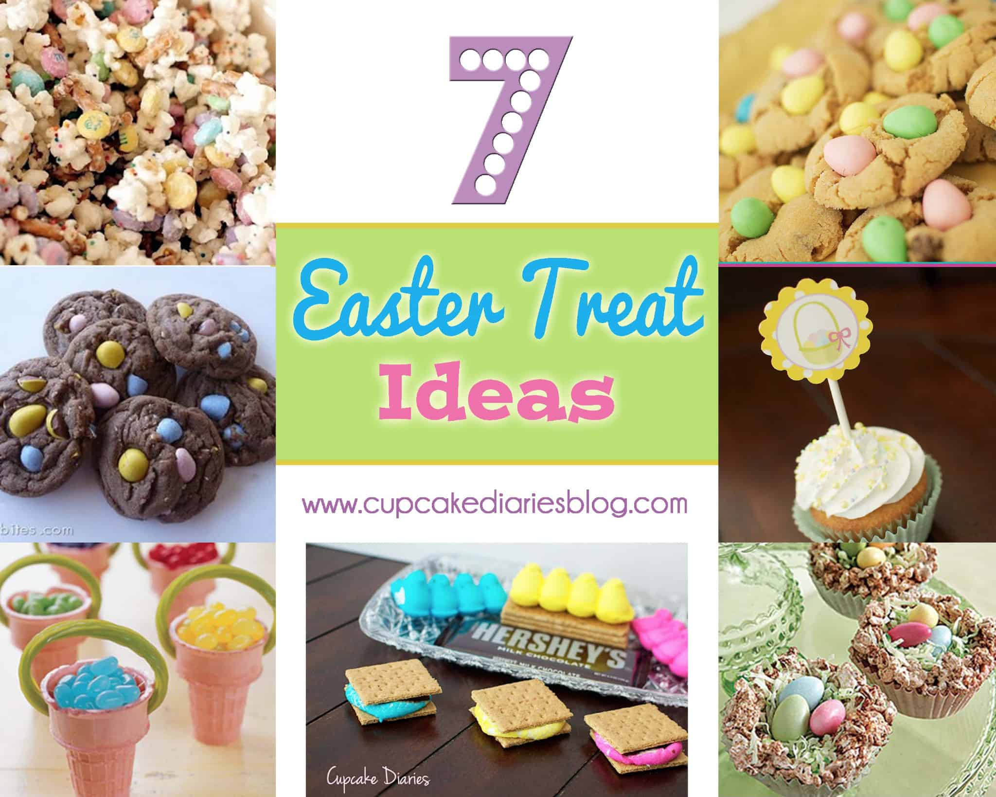 7 fun and easy easter treat ideas cupcake diaries for Quick and easy easter treats recipes
