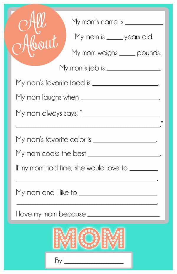 questionnaire favorite ice cream Father's day questionnaire (free printable) my dad laughs when i eat ice cream like a bear (i have never seen her do this i love my dad because he's my favorite, best daddy in the whole world (aw, so sweet she said this with a big smile.