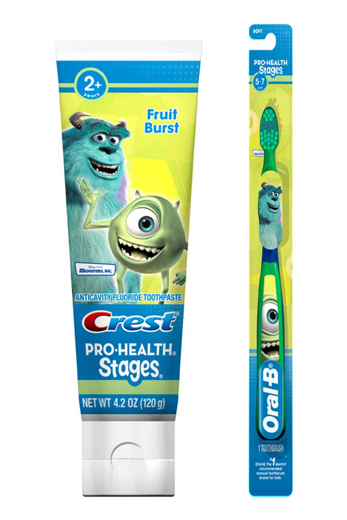crest amp oral b pro health stages monsters university