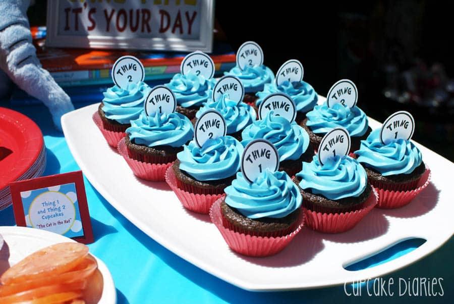 Dr Seuss Birthday Cakes Cupcakes