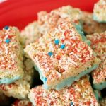 Fourth of July Krispy Treats