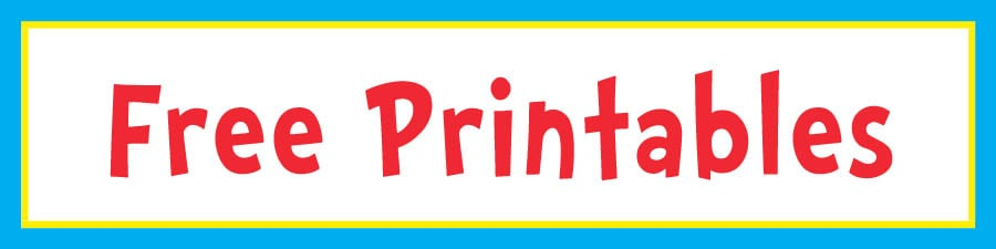 image about Thing 1 and Thing 2 Printable Cutouts named Dr. Seuss 1st Birthday Bash