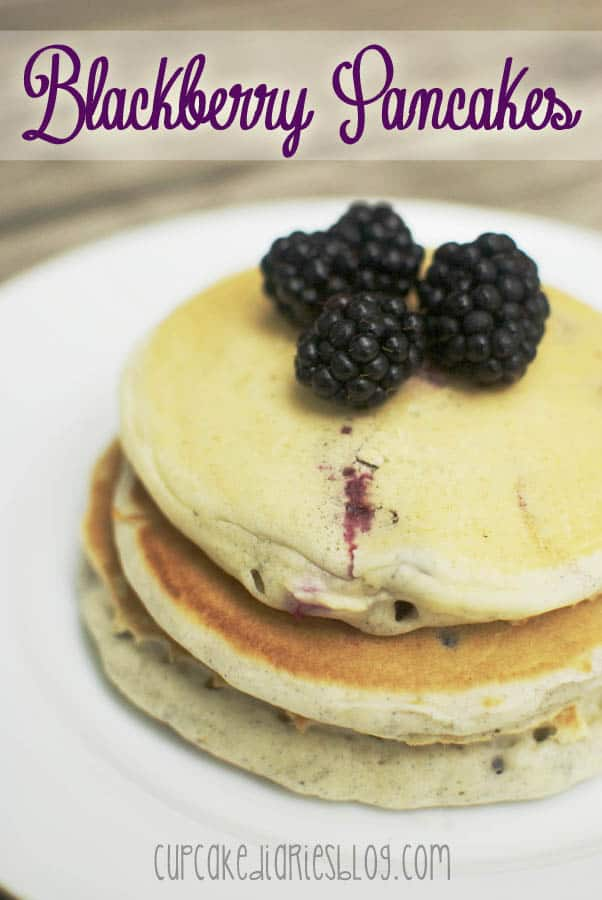 Blackberry Pancakes 25 Cafe Zupas Gift Card Giveaway Cupcake