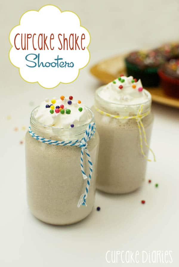 Cupcake Shake Shooters