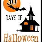 Halloween Door Sign {30 Days of Halloween – Day 4}