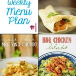 Cupcake Diaries Weekly Menu Plan #1