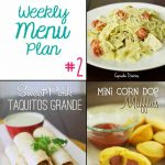 Cupcake Diaries Weekly Menu Plan #2