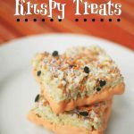 Halloween Krispy Treats