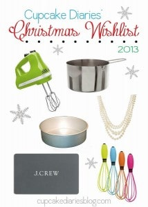 Cupcake Diaries' Christmas Wishlist