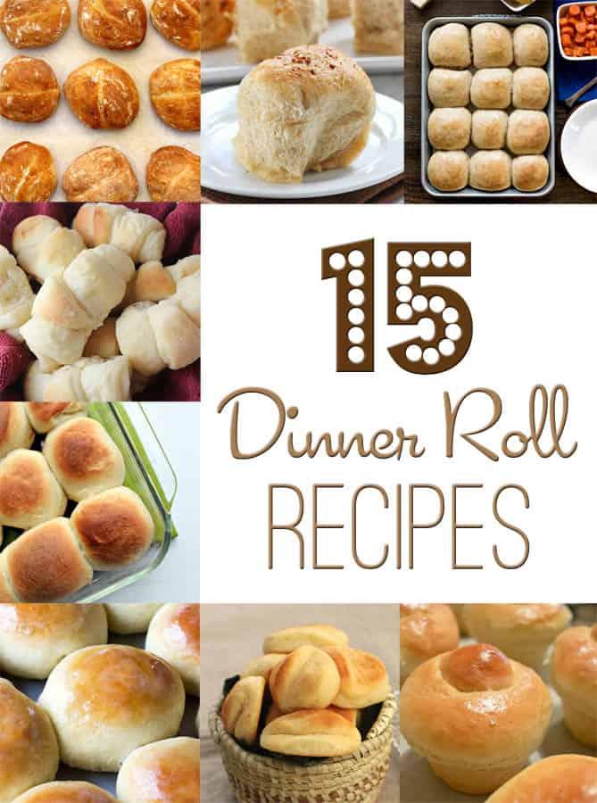 15 Dinner Rolls
