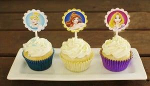 Disney Princess Cupcakes and GIVEAWAY!