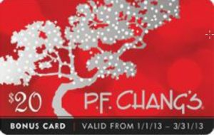 Gift Giving with P.F. Chang's