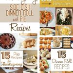 Last-Minute Thanksgiving Side Dish, Dinner Roll & Pie Recipes