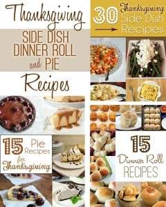 Last-Minute Thanksgiving Side Dish, Dinner Roll & Pie Recipes