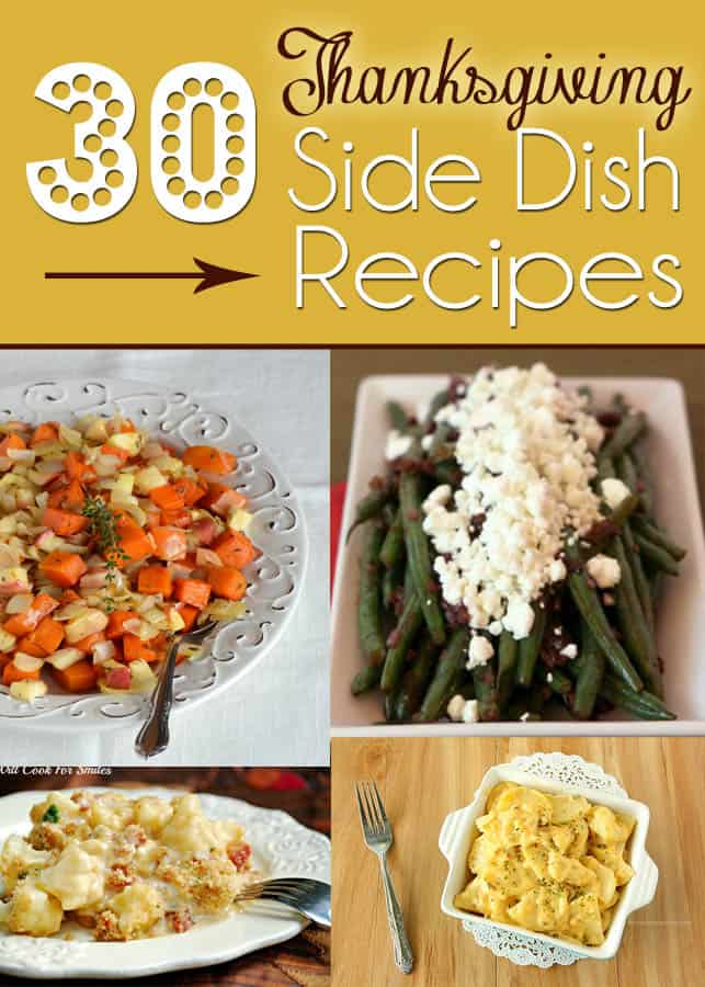 30 Thanksgiving Side Dishes