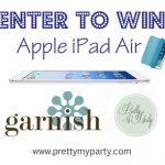 Apple iPad Air GIVEAWAY!