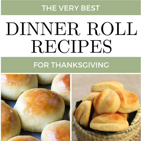 The best dinner roll recipes to make this Thanksgiving!