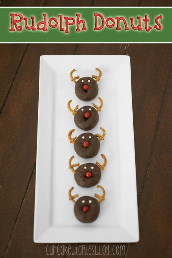 Rudolph Donuts