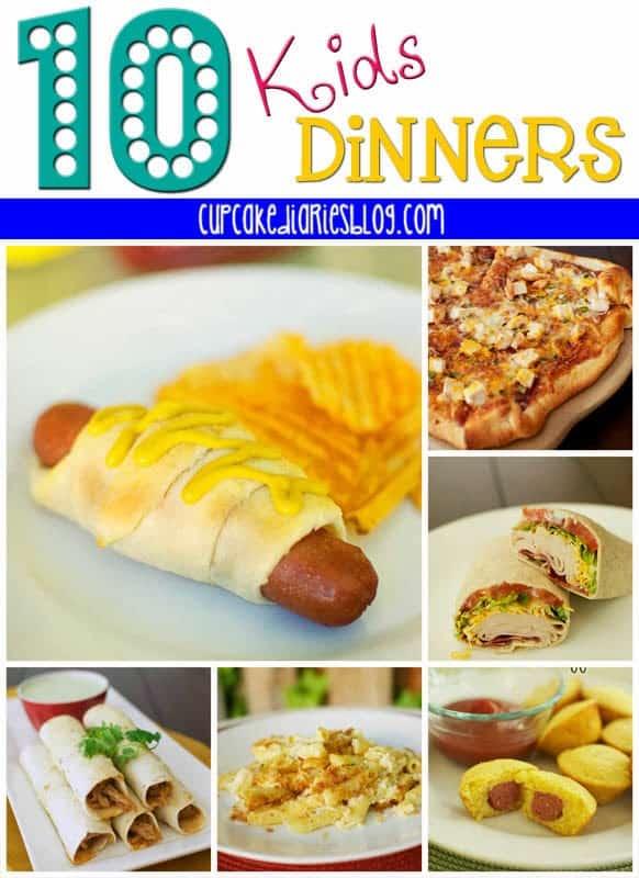 10 Kids Dinners
