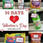 14 Days of Valentine's Day with FREE Printable Tags