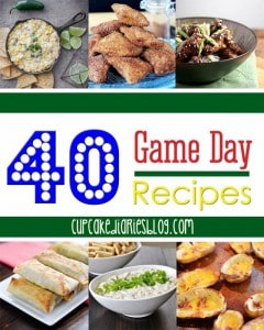 40 Game Day Recipes